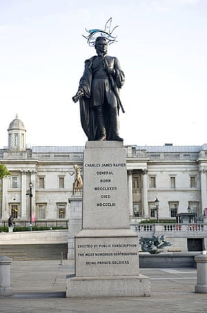 Hatwalk gallery: Sir Charles James Napier in Trafalgar Square