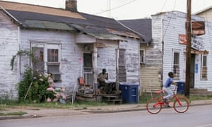 Residents in the Mississippi Delta