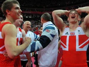 Max Whitlock and Sam Oldham of Great Britain