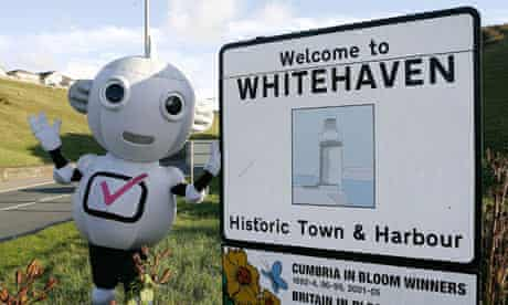 Whitehaven in Cumbria was the first town in the UK to switch over to digital