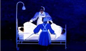 Nurses, Olympic Games 2012 Opening Ceremony