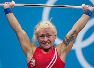 Weightlifting faces: Boyanka Kostova of Azerbaijan