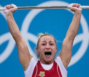 Weightlifting faces: Yuliya Kalina of Ukraine