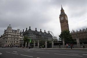 Quiet London: A quiet Parliament Square