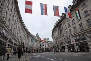 Quiet London: Shops along Regent Street