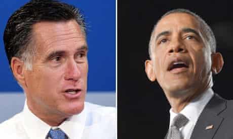 obama romney campaign