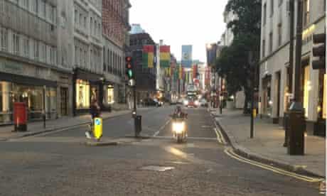 twitter empty london