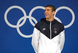phelps gallery: Olympics Day 4 - Swimming