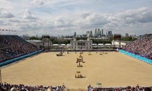 Lonodn Olympics Greenwich Park
