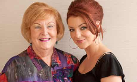 Mrs Biggs star Sheridan Smith with Charmian Brent, former wife of Ronnie Biggs