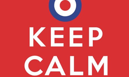 Team GB poster: keep calm and carry on