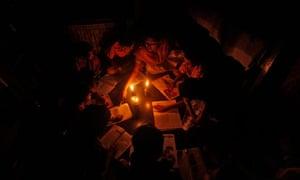 Indian blackout