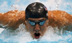 Fast but just not fast enough. Michael Phelps, in the Men's 200m Butterfly final