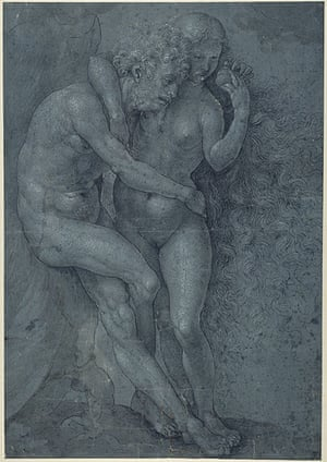 Old Masters:  Adam and Eve by Jan Gossaert