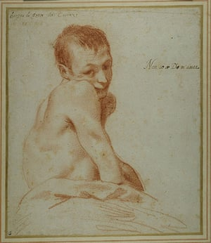 Old Masters: A hunchback boy by Annibale Carracci