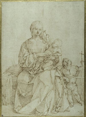 Old Masters: Madonna and Child by Durer