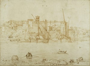 Old Masters: View of the Ripa Grande by Brueghel the Elder