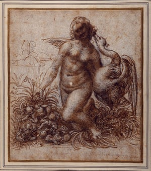 Old Masters: Leda and the Swan by Leonardo da Vinci