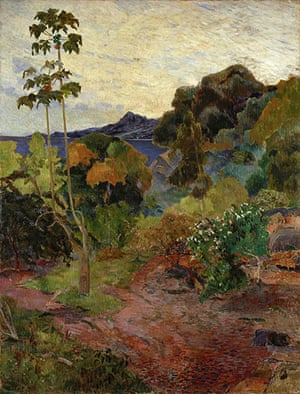 Van Gogh to Kandinsky: Martinique Landscape by Paul Gauguin