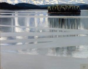 Van Gogh to Kandinsky: Lake Keitele by Akseli Gallen-Kallela