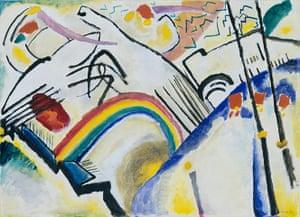 Van Gogh to Kandinsky: Cossacks by Wassily Kandinsky
