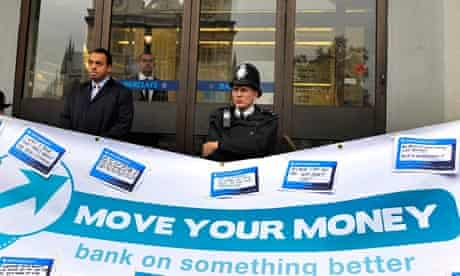 Protest Against Barclays