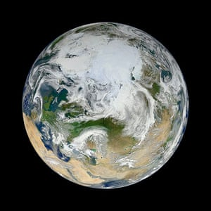 Satellite eye on earth: Earth from space
