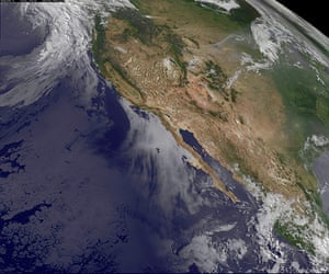 Satellite eye on earth: NASA satellite image of wildfires in the western United States
