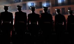 Algerian presidential guards