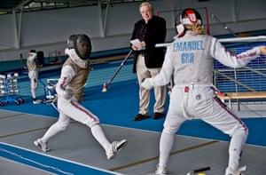 Critics meet Olympians: Critic Michael Billington meets the British women's Olympic fencing team