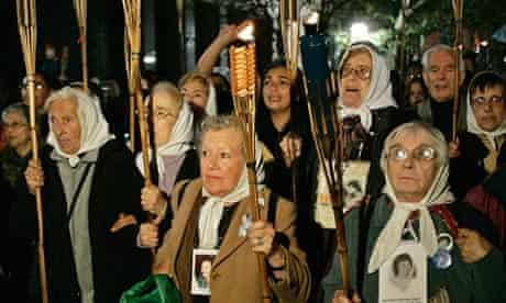 Argentina's Mothers of Plaza de Mayo. in 2007