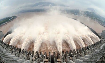 China's Three Gorges dam