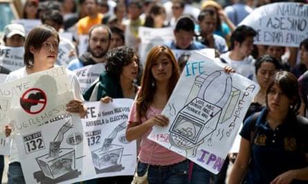 Mexico election protest