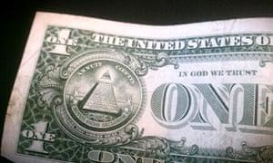 A US one dollar bill. Photograph: Paul Owen