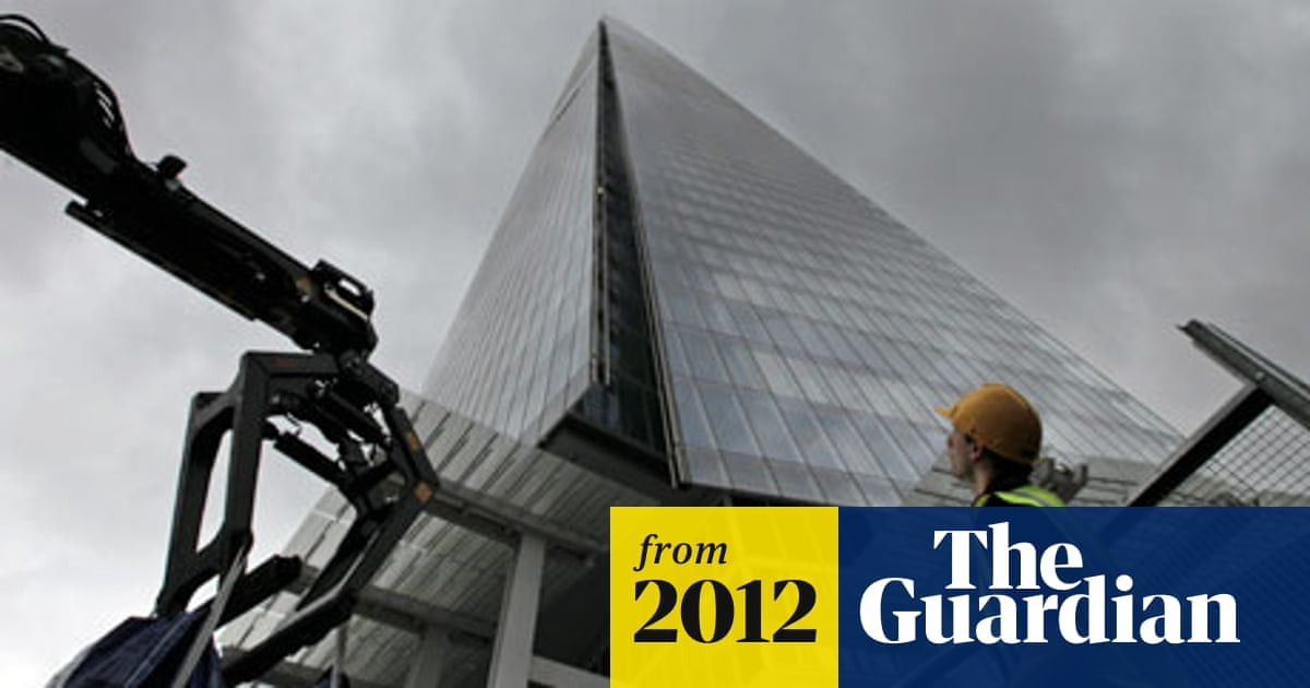 23 facts about the Shard | Art and design | The Guardian