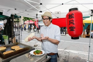 Chatsworth: Fumio Tanga, 35, DJ, party promoter and Japanese food stall holder
