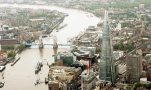 Tower of London: the Shard offers a panoramic vista of the capital.