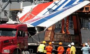 Air France crash debris