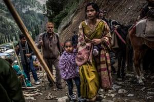 FTA: Daniel Berehulak: Thousands Of Hindu Pilgrims Take Part In Amarnath Yatra