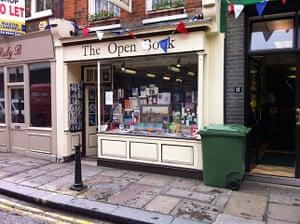 Bookshops: Open Book in Richmond