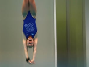 Stacie Powell at the Beijing Olympics in 2008.