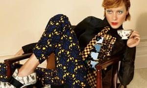 Chloë Sevigny in Miu Miu autumn/winter 2012 ad campaign