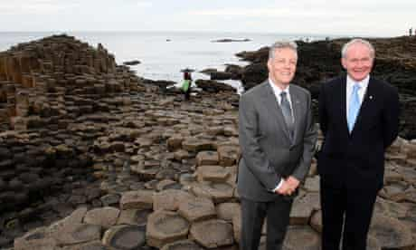 Giant's Causeway visitors' centre opening