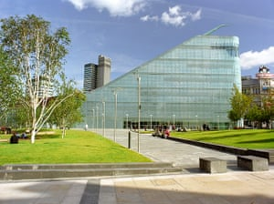 National football museum: The Urbis Centre in central Manchesterr, home of the museum