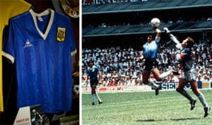 National football museum: Argentina shirt Diego Maradona wore, Mexico World Cup