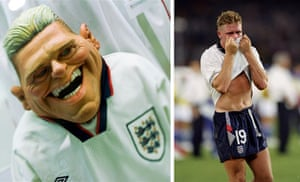 National football museum: Paul Gascoigne's Spitting Image puppet