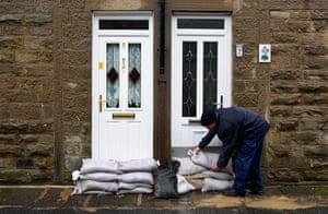 Rain: Flooding in Rochdale