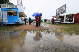 Rain: F1 Grand Prix of Great Britain - Practice