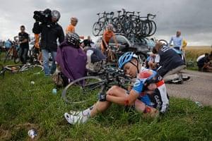 Picture desk live: Tour de France crash
