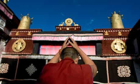 Jokhang temple in Lhasa, Tibet